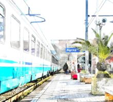 Agropoli: rail station Sticker