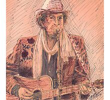 BOB DYLAN PERFORMING Photographic Print