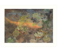 Summer Pond 2 Art Print