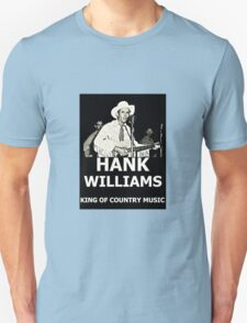 Hank Williams, King Of Country Music T-Shirt