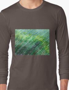 Earth Tones in Oil Pastel Long Sleeve T-Shirt