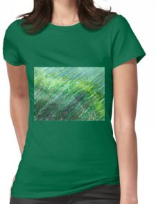 Earth Tones in Oil Pastel Womens Fitted T-Shirt