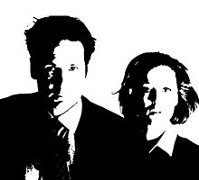 X files mulder & scully by DANNYD86