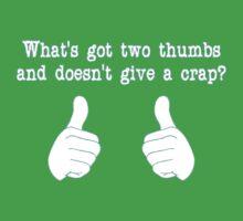 What's got two thumbs? Kids Tee