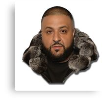 DJ Khaled Canvas Print