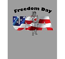 Freedoom Day Of USA Photographic Print