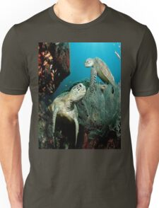 Turtle in the Ocean Unisex T-Shirt