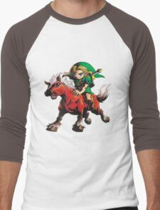 zelda Men's Baseball ¾ T-Shirt