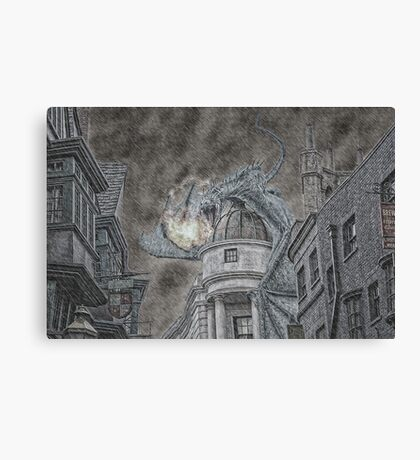 Hungarian Horntail Canvas Print