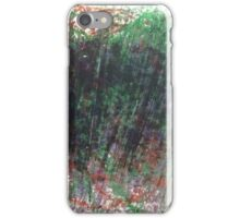 The Monster Under The Bed in Oil Pastels iPhone Case/Skin