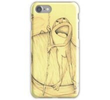 Frog Song iPhone Case/Skin