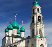 old Russian church by mrivserg