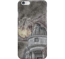 Hungarian Horntail Dragon in Red iPhone Case/Skin