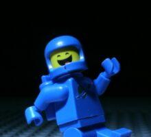 Lego Benny Sticker