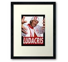 LUDACRIS YOUNG Framed Print