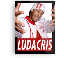 LUDACRIS YOUNG Metal Print