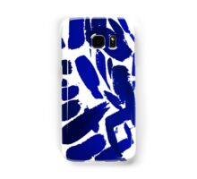 Blue Brush Strokes Samsung Galaxy Case/Skin
