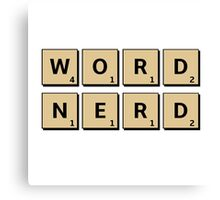 Word Nerd Canvas Print