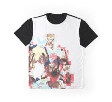 Abstract He-Man Graphic T-Shirt