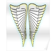 ANGEL, little angel, wings, Flight, Fly, Angel, Angelic, Air Force, Jets Poster