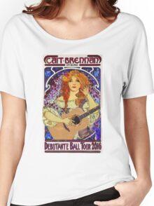 Cait Brennan - Debutante Ball Tour Art Nouveau Design! Women's Relaxed Fit T-Shirt