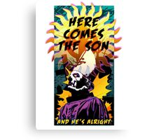PAPA I - Here Comes the Son Canvas Print