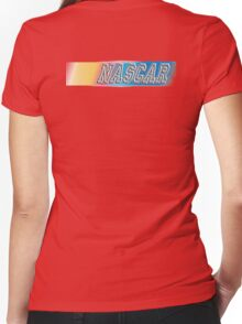 NASCAR, MOTORSPORT, CAR, RACE, RACING, National Association for Stock Car Auto Racing Women's Fitted V-Neck T-Shirt