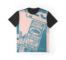 """412-The City Collection """"No Parking"""" Graphic T-Shirt"""