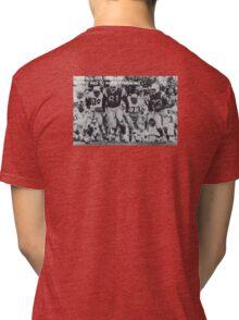 American football Tri-blend T-Shirt