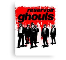 RESERVOIR GHOULS Canvas Print