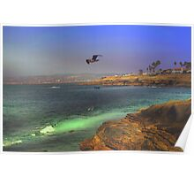 Searching ~ Sunset Cliffs, California ~ United States Poster
