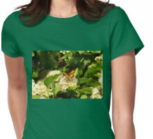 Pearl Crescent  Womens Fitted T-Shirt