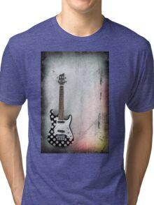 Hanging Electric Ukulele Tri-blend T-Shirt