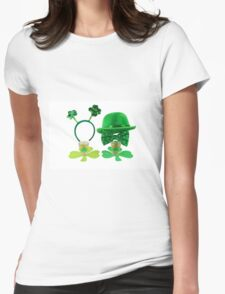 St. Patric's Day Cards and Gifts Womens Fitted T-Shirt