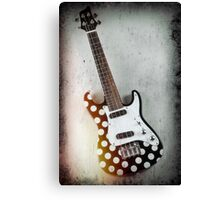 Hanging Electric Ukulele Canvas Print