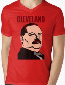 GROVER CLEVELAND Mens V-Neck T-Shirt