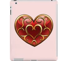 Skyward Sword Heart Container iPad Case/Skin