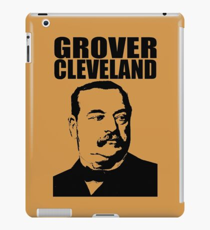 GROVER CLEVELAND-3 iPad Case/Skin
