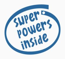 Super powers inside Kids Clothes