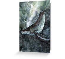 Humpback Greeting Card