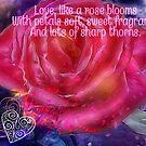 Love like a Rose by Charldia