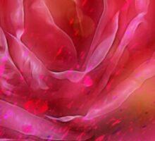 Love like a Rose Sticker
