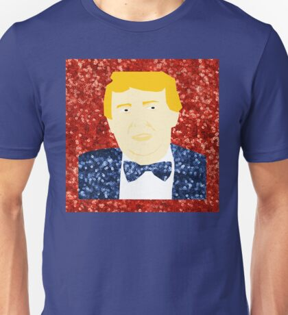 sequin donald trump Unisex T-Shirt