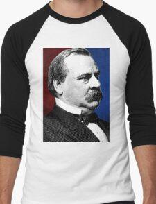 GROVER CLEVELAND Men's Baseball ¾ T-Shirt