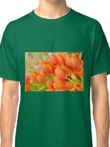 Orange Unicum Tulips Classic T-Shirt