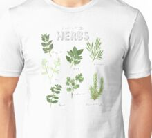 Culinary Herbs Unisex T-Shirt