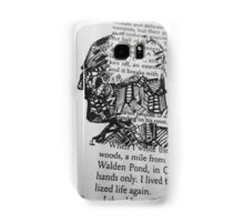 The Face and Literature  Samsung Galaxy Case/Skin