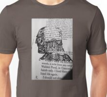 The Face and Literature  Unisex T-Shirt