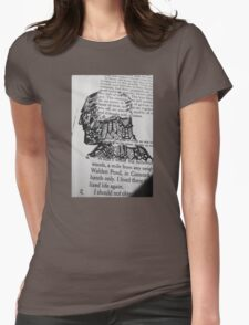 The Face and Literature  Womens Fitted T-Shirt