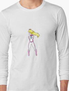 Biker Peach Long Sleeve T-Shirt